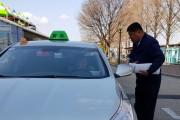 광주에서 택시비상대책위 자진사퇴 선언문 발표